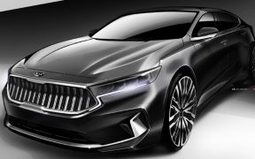 kia k7 facelift sketches (2)