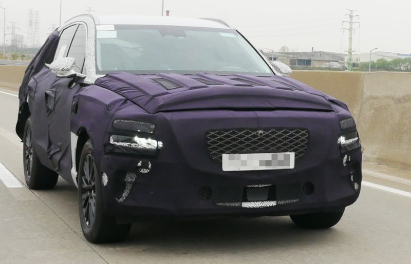Latest Genesis GV80 Spy Pictures
