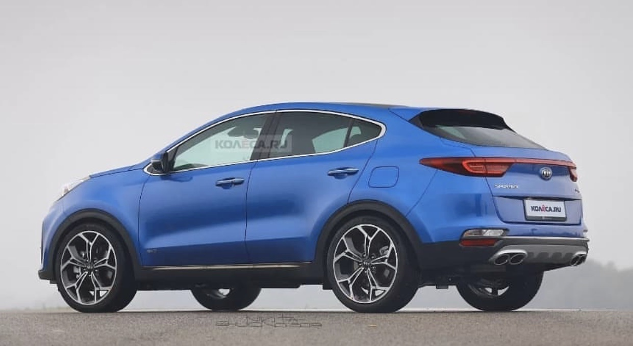 Check How a Kia Sportage Coupe SUV Could Look