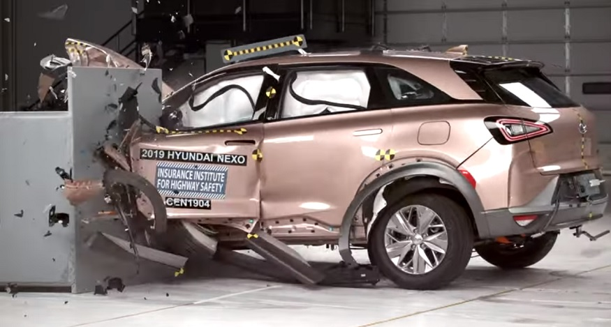Hyundai NEXO First FCEV to Earn Top Safety Pick+ Award from IIHS