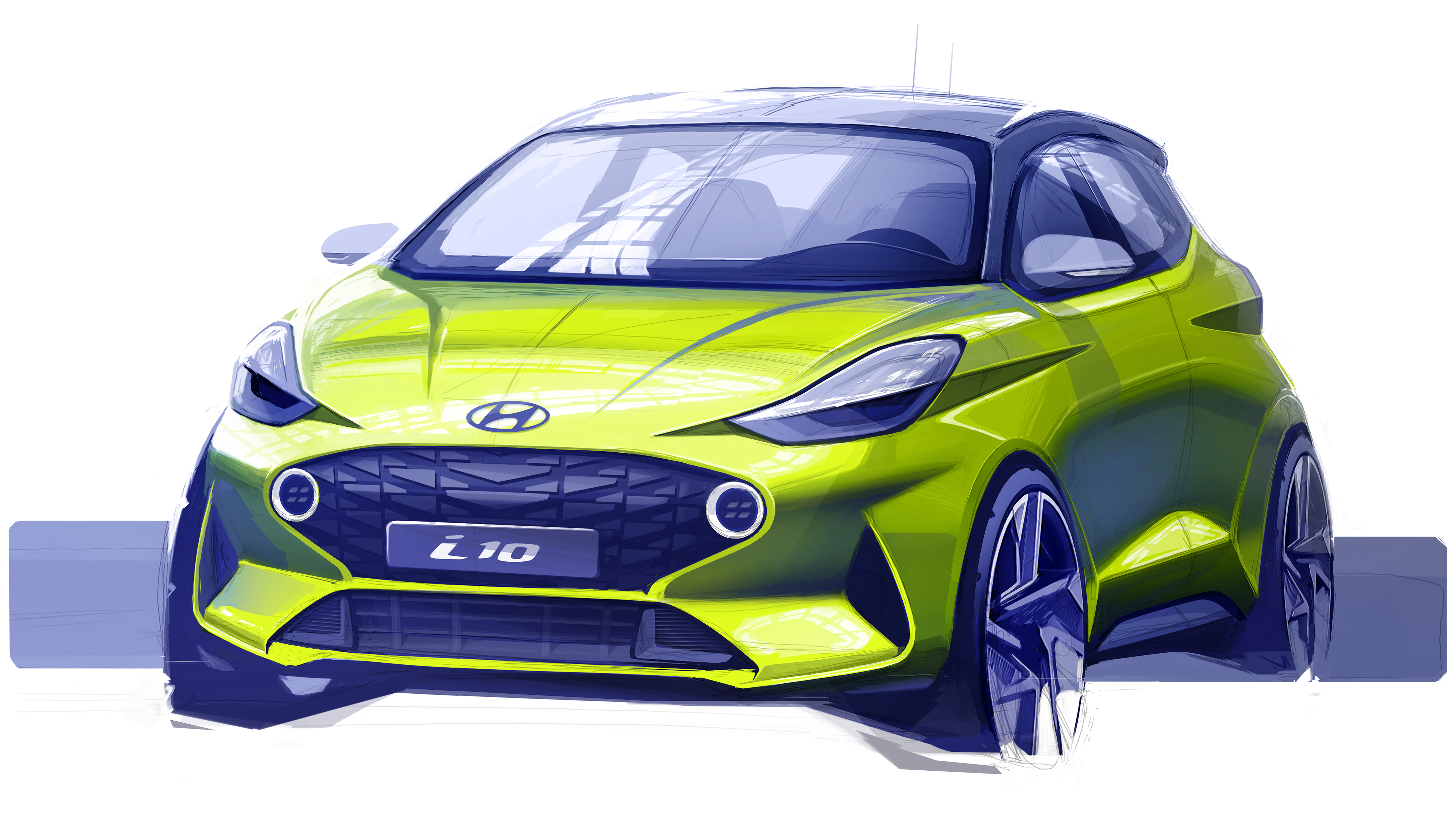 Next-gen Hyundai i10 Teased