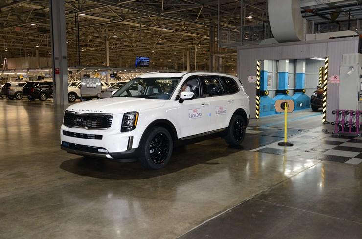 Kia Motors Produces Three Millionth Vehicle in the U.S.