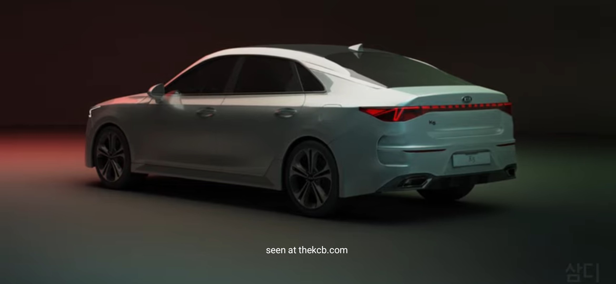 Next-gen Kia Optima 3D Modeling Render
