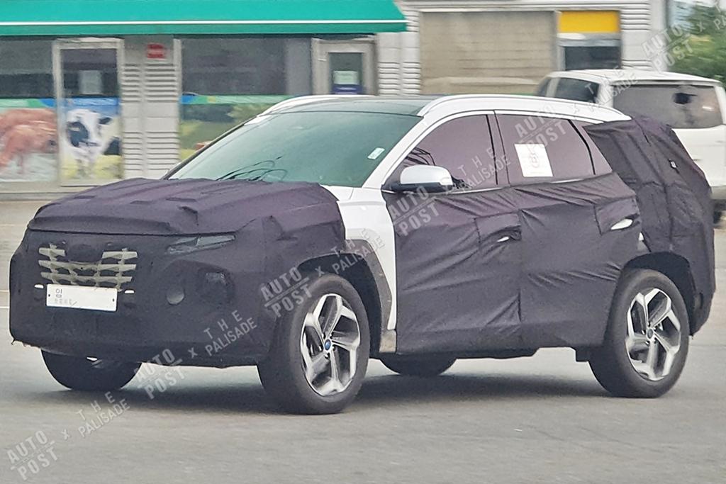 Hyundai Tucson Spied Back in South Korea