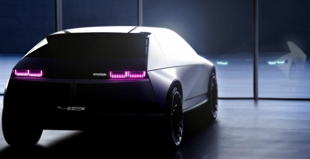 Hyundai Showcases a New Teaser of 45 Concept Car
