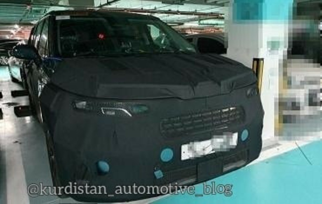 Mysterious Big Van Could Be Next-Gen Kia Carnival