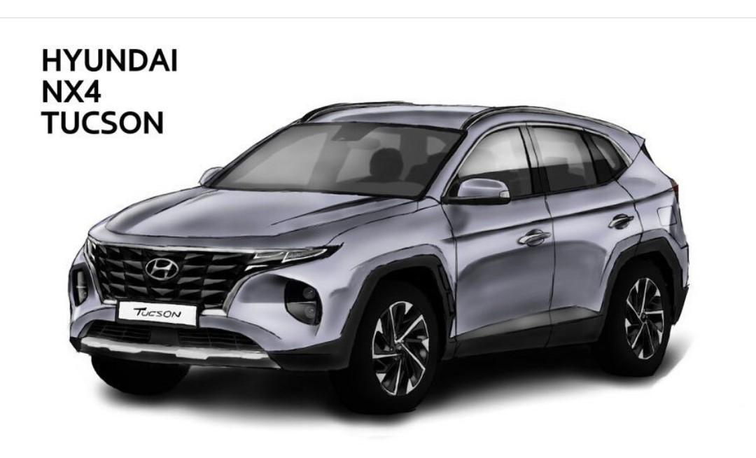 Next-Gen Hyundai Tucson Render