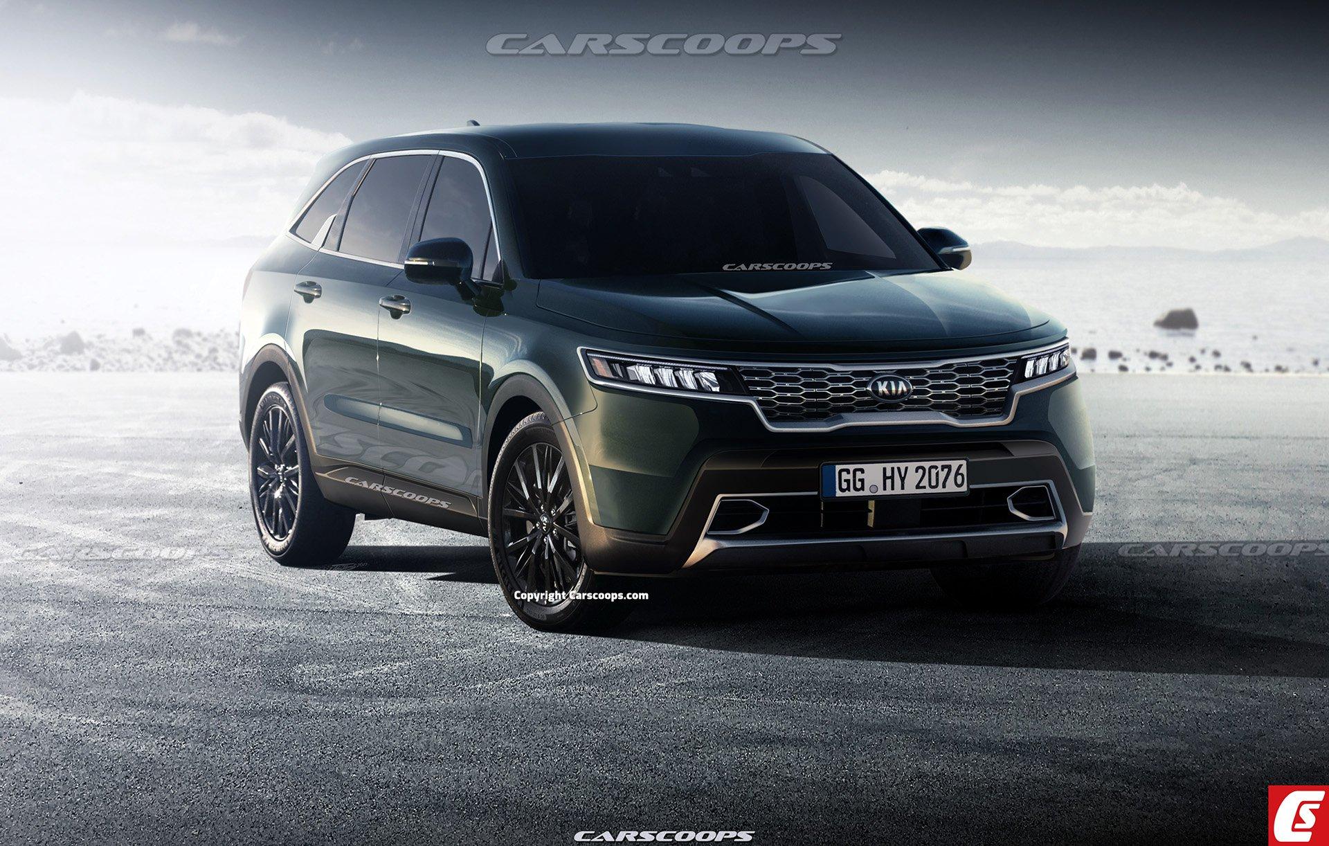 2021 Kia Sorento Render - Korean Car Blog