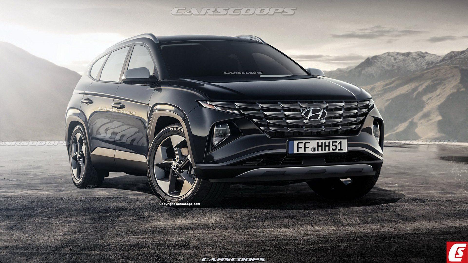 Check this Realistic Hyundai Tucson Rendering