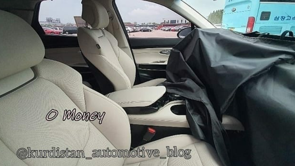 Genesis GV70 Spied Inside in South Korea