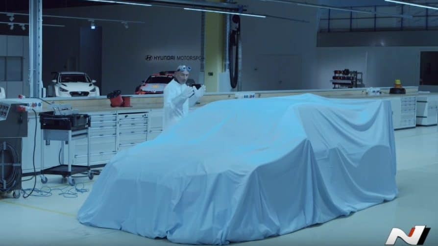 Hyundai Motorsport Teases EV Race Car for Frankfurt
