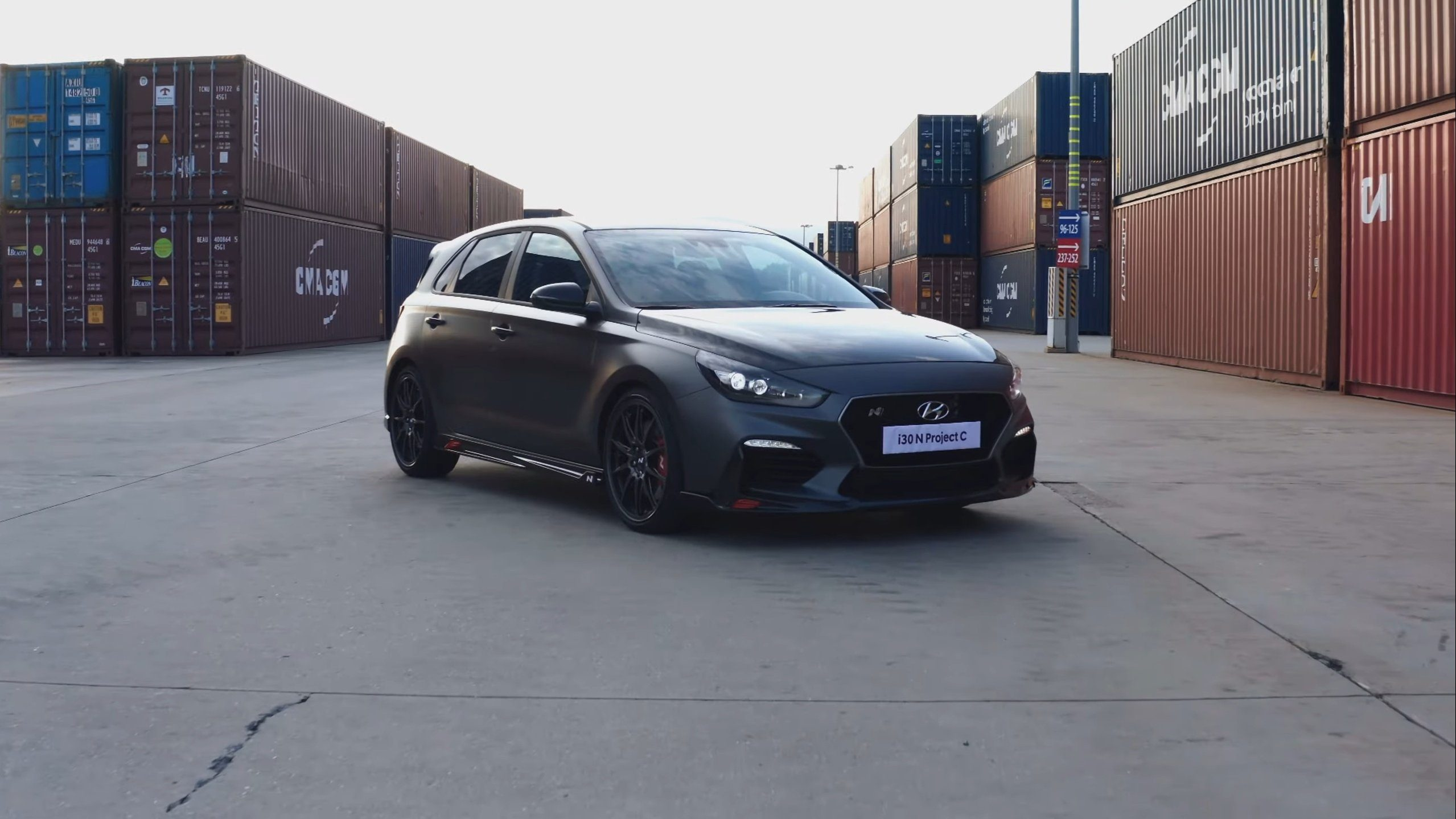 Hyundai I30 N Project C Reveals All Its Carbon Fiber