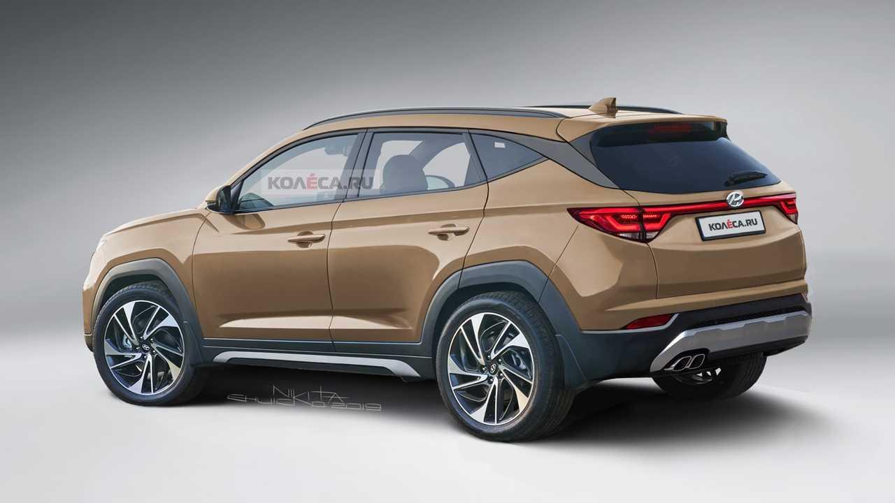 Hyundai Tucson Rendered After Latest Spy Shots