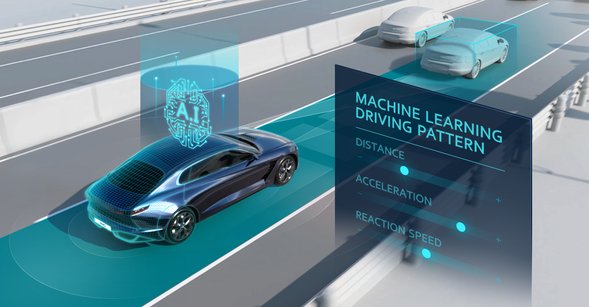 HMG develops machine learning based on Smart Cruise Control technology