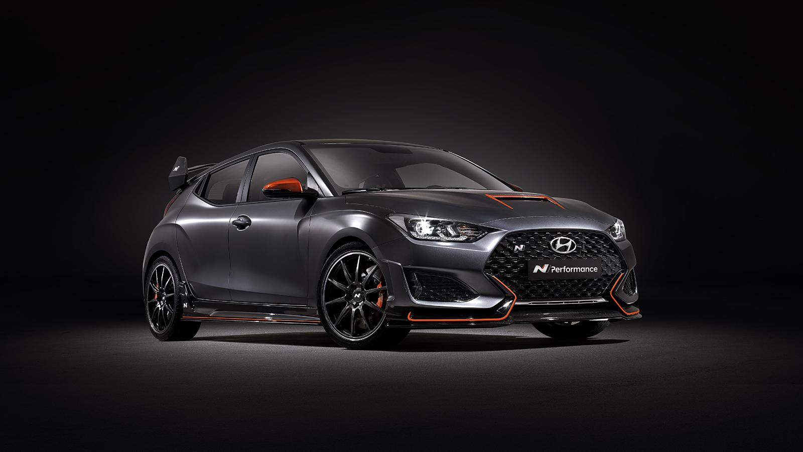 Hyundai Creates Veloster N Performance Concept For 2019 SEMA Show