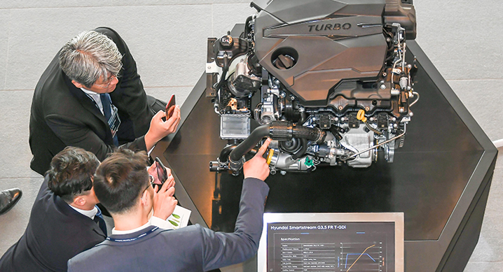 Hyundai Officialy Announces 2.5 T-GDi, 3.5 T-GDi, 3.0 Diesel and 8 DCT Wet Transmission