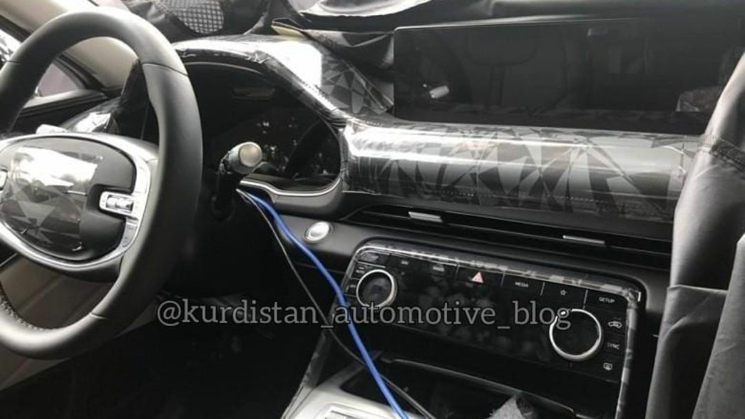Genesis GV80 Interior Caught Undisguised