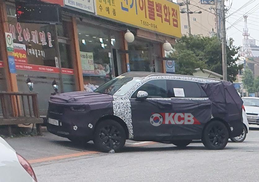 2021 Kia Sorento Spied in South Korea