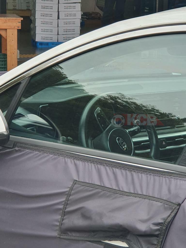 Exclusive 2020 Kia Optima Interior Shot