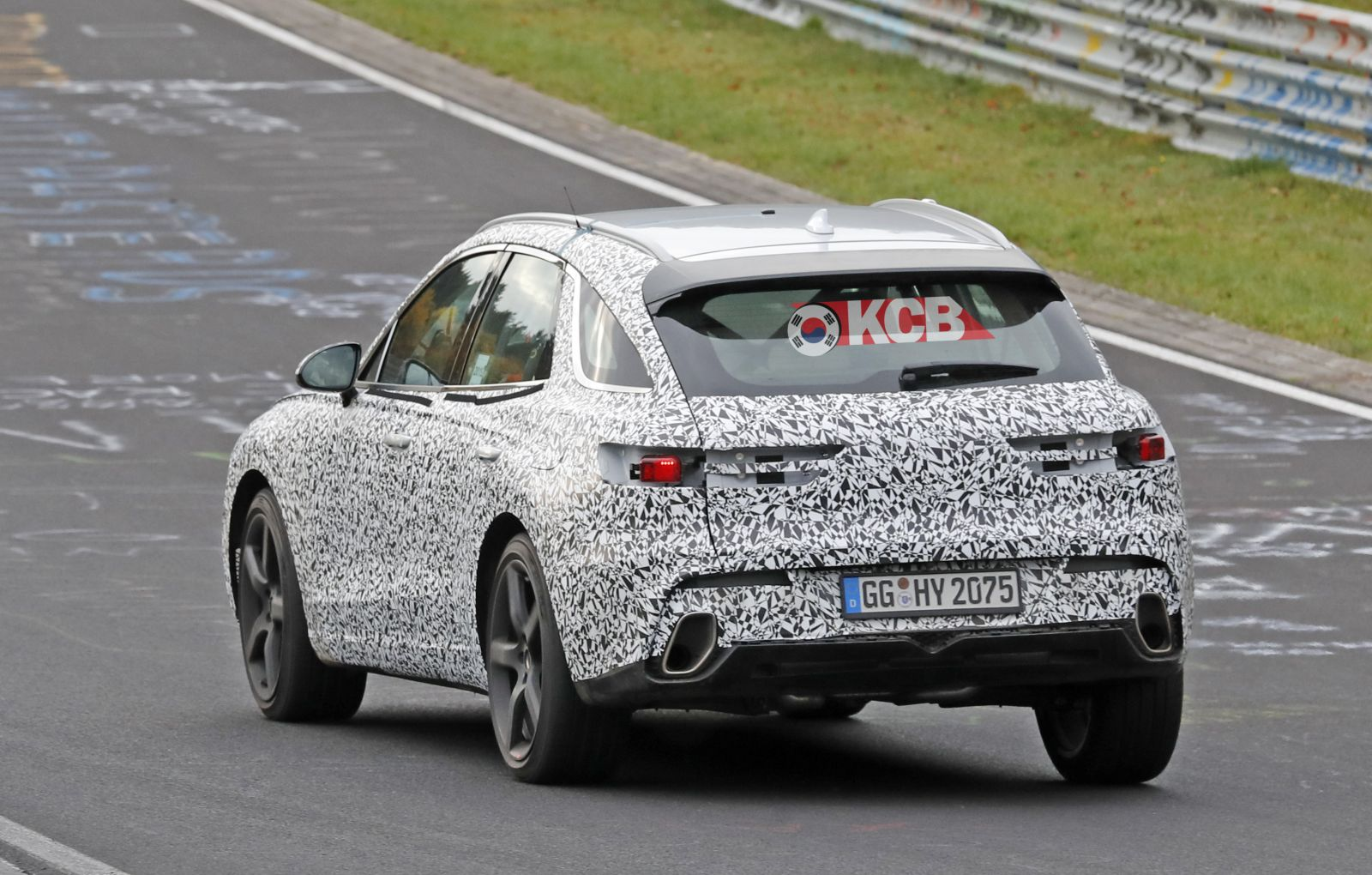 Genesis GV70 Spied in the Ring