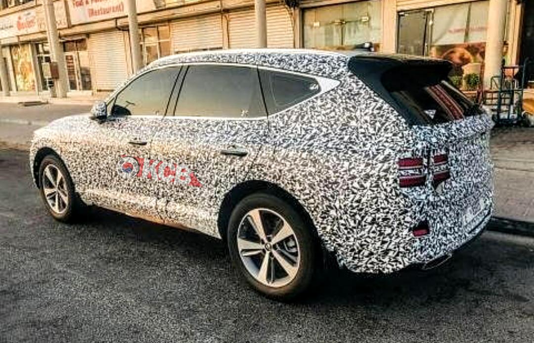 Genesis GV80 Spied Near Dubai