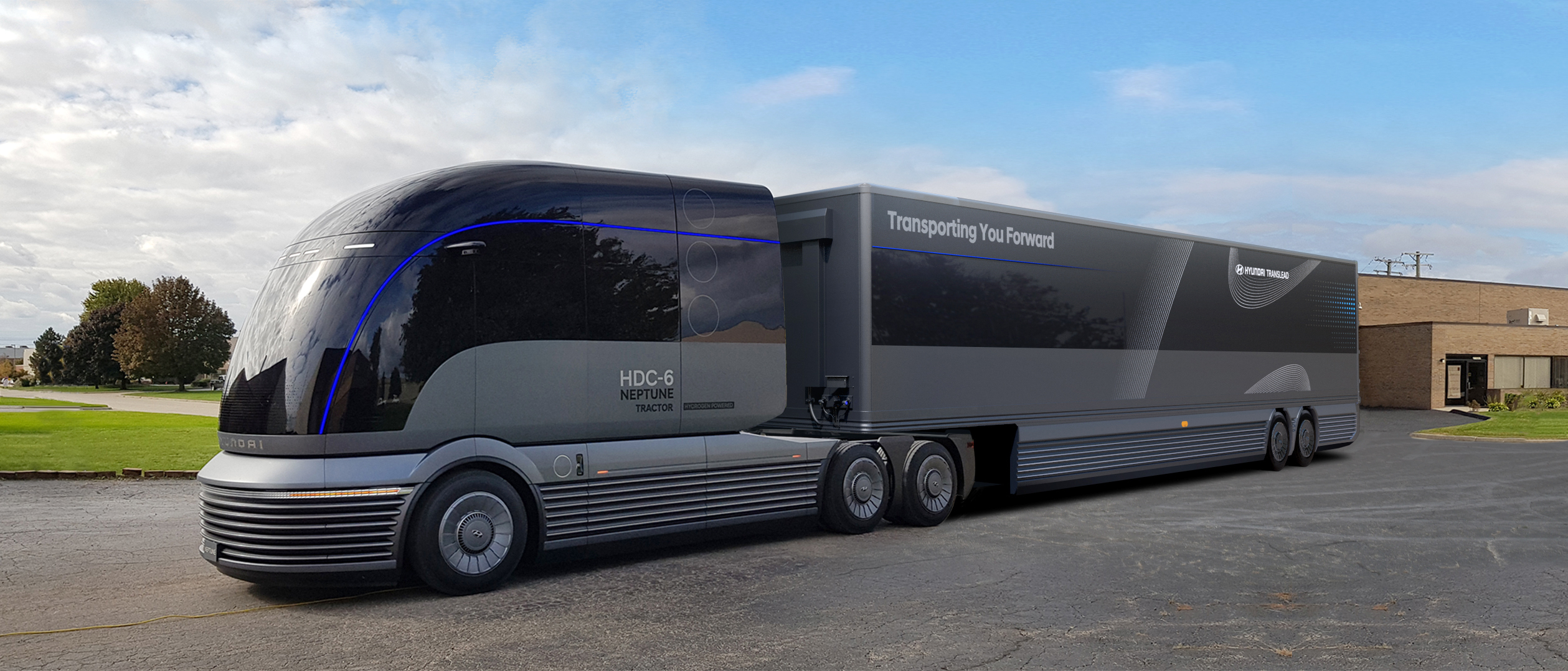 Hyundai Reveals Commercial Truck Mobility Vision at NACV Show