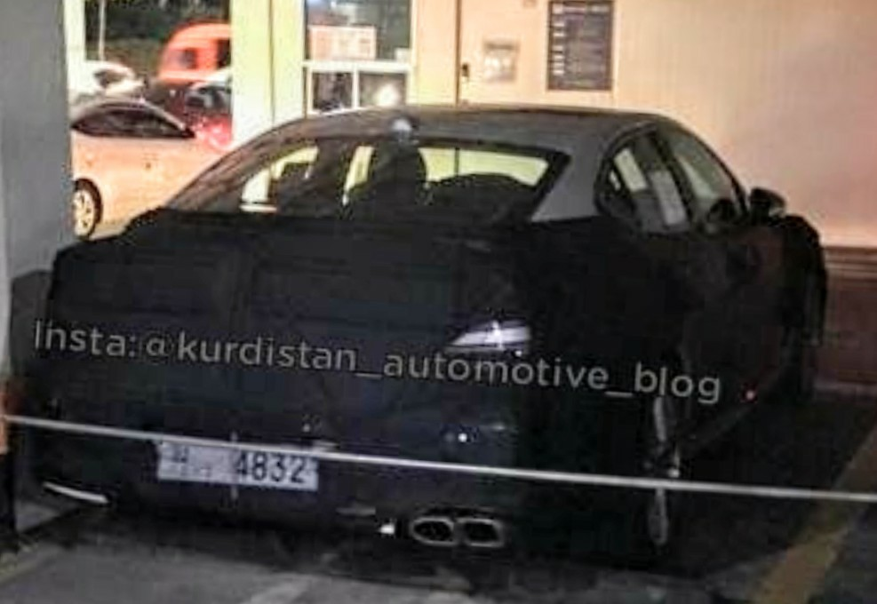 Mysterious Genesis Sedan Spied, Could be G70 Facelift