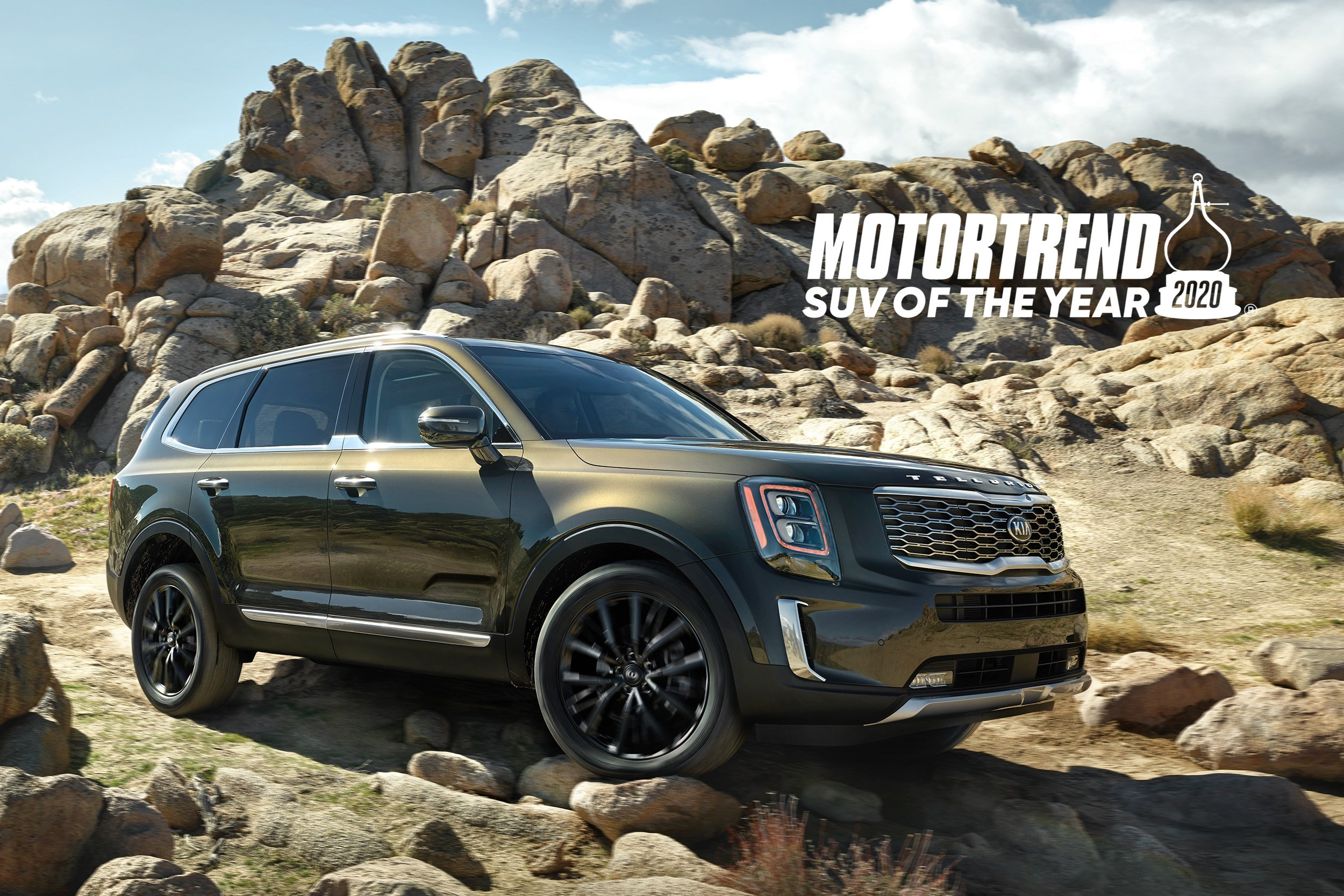 Kia Telluride Named MotorTrend's SUV of the Year
