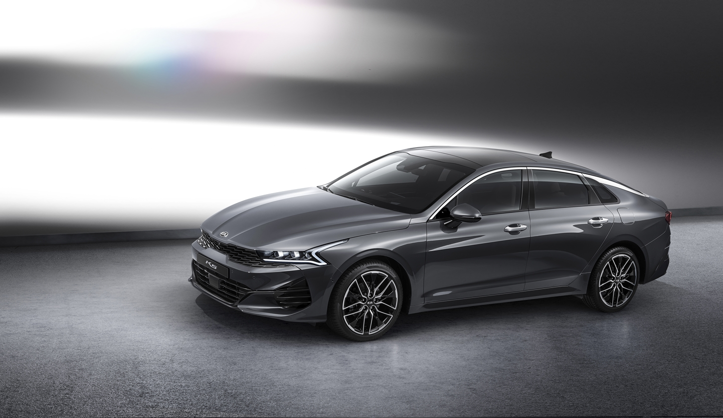 Kia Reveals First Official Images of K5, Korean-spec Optima