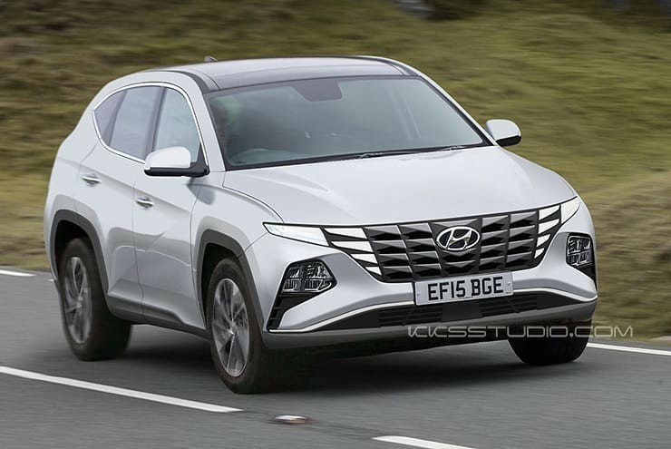 Hyundai Tucson Rendered After Vision T Reveal