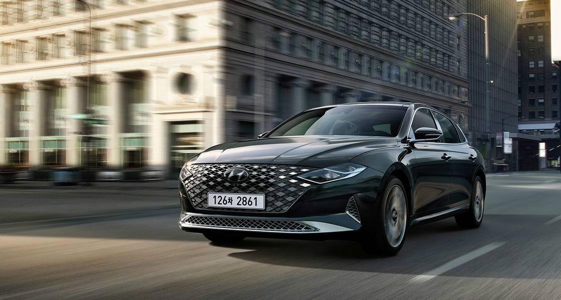 Hyundai Grandeur Officially Revealed in South Korea