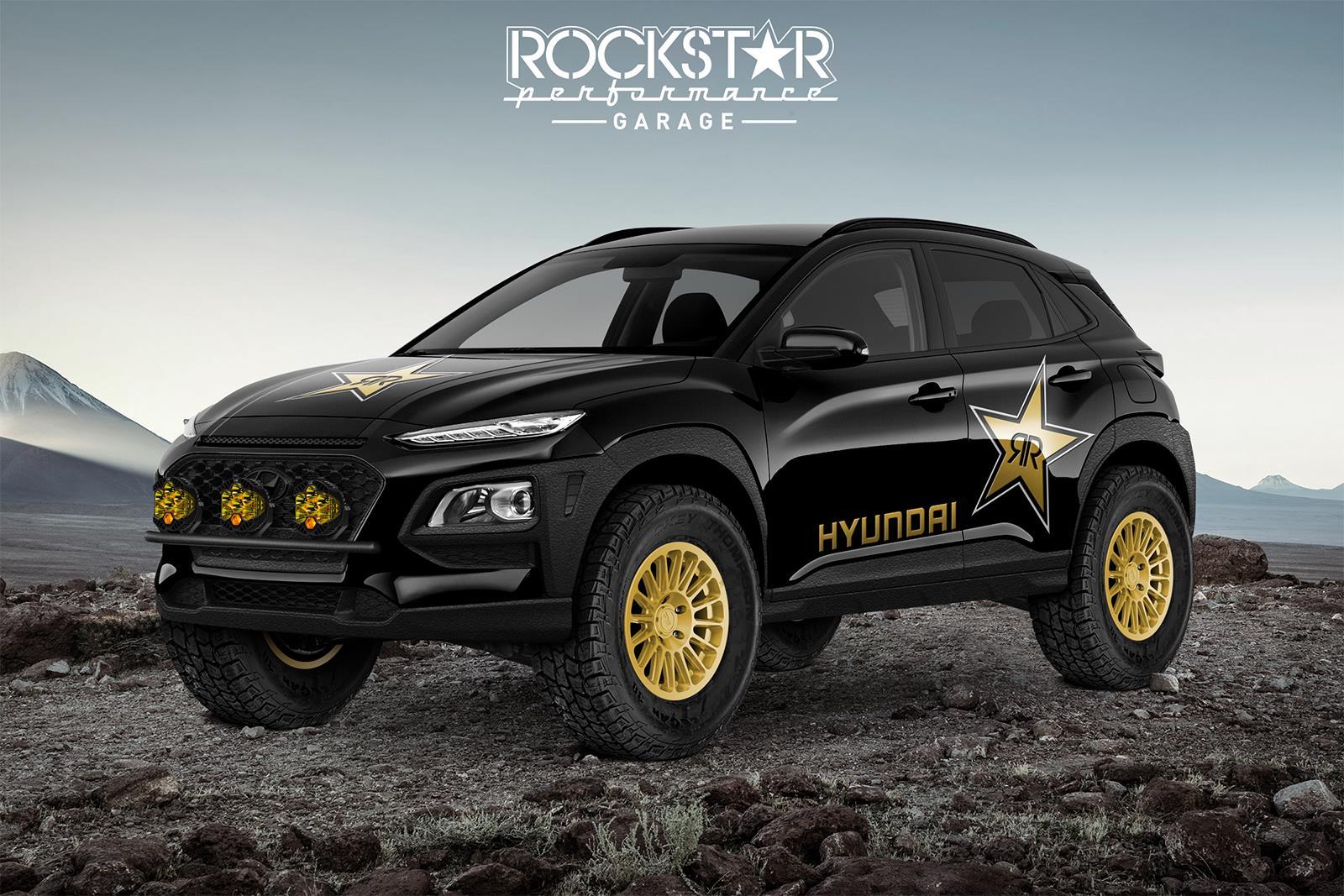 Hyundai Teases Rockstar Kona Ultimate Concept for SEMA