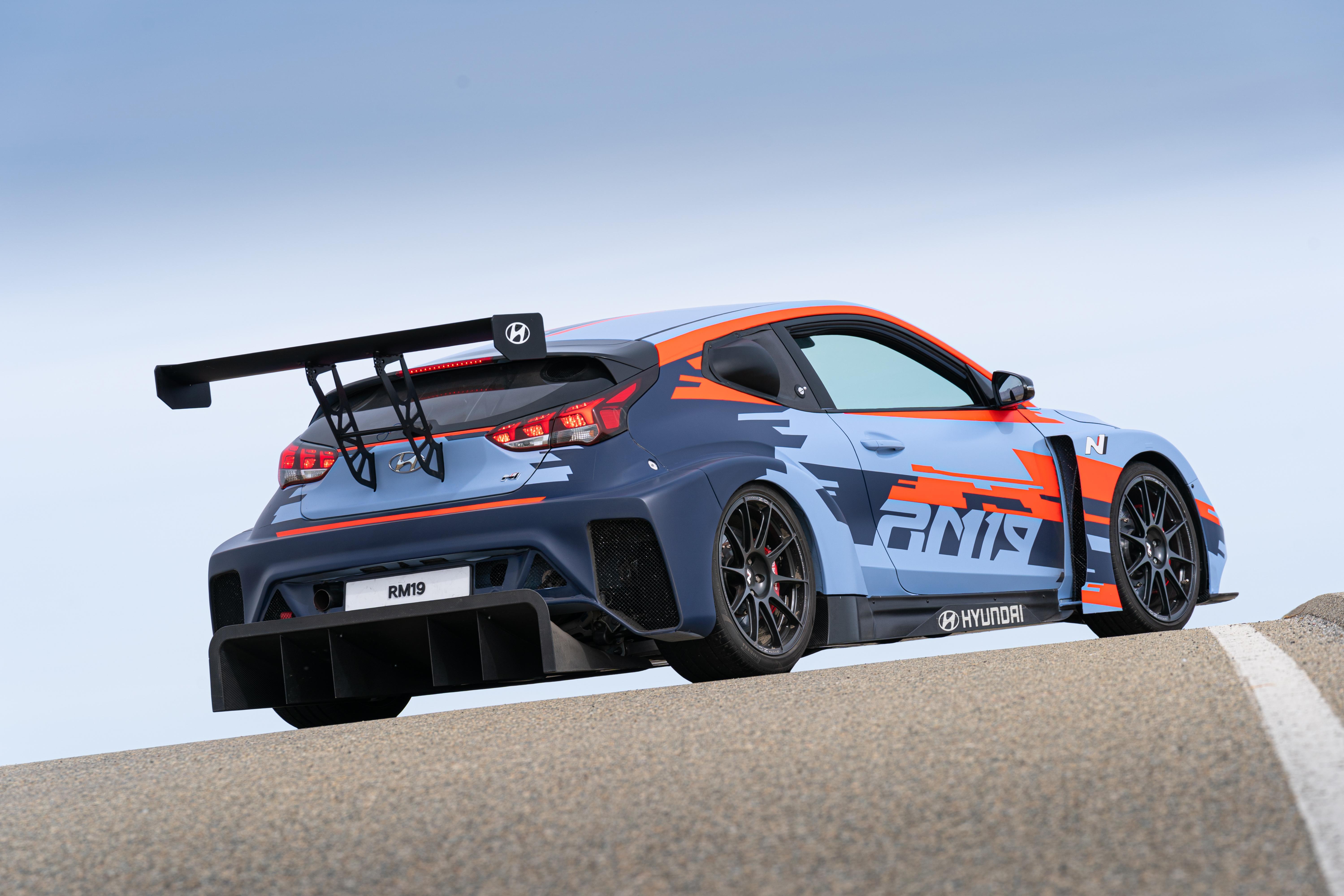 Hyundai N Brand Reveals All-New RM19 Racing Midship Sports Car Prototype