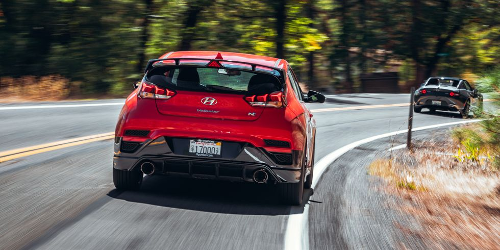 Hyundai Veloster N is 2020 Performance Car of the Year by Road & Track
