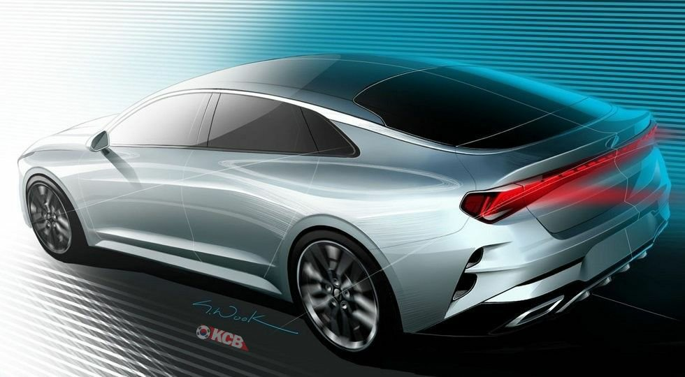 Kia Optima Leaked Rendering Looks Closer to Production