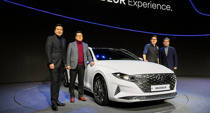Hyundai Grandeur Facelift Officially Revealed in South Korea