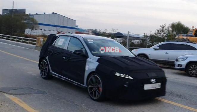 Hyundai i30 N Facelift Spied in South Korea