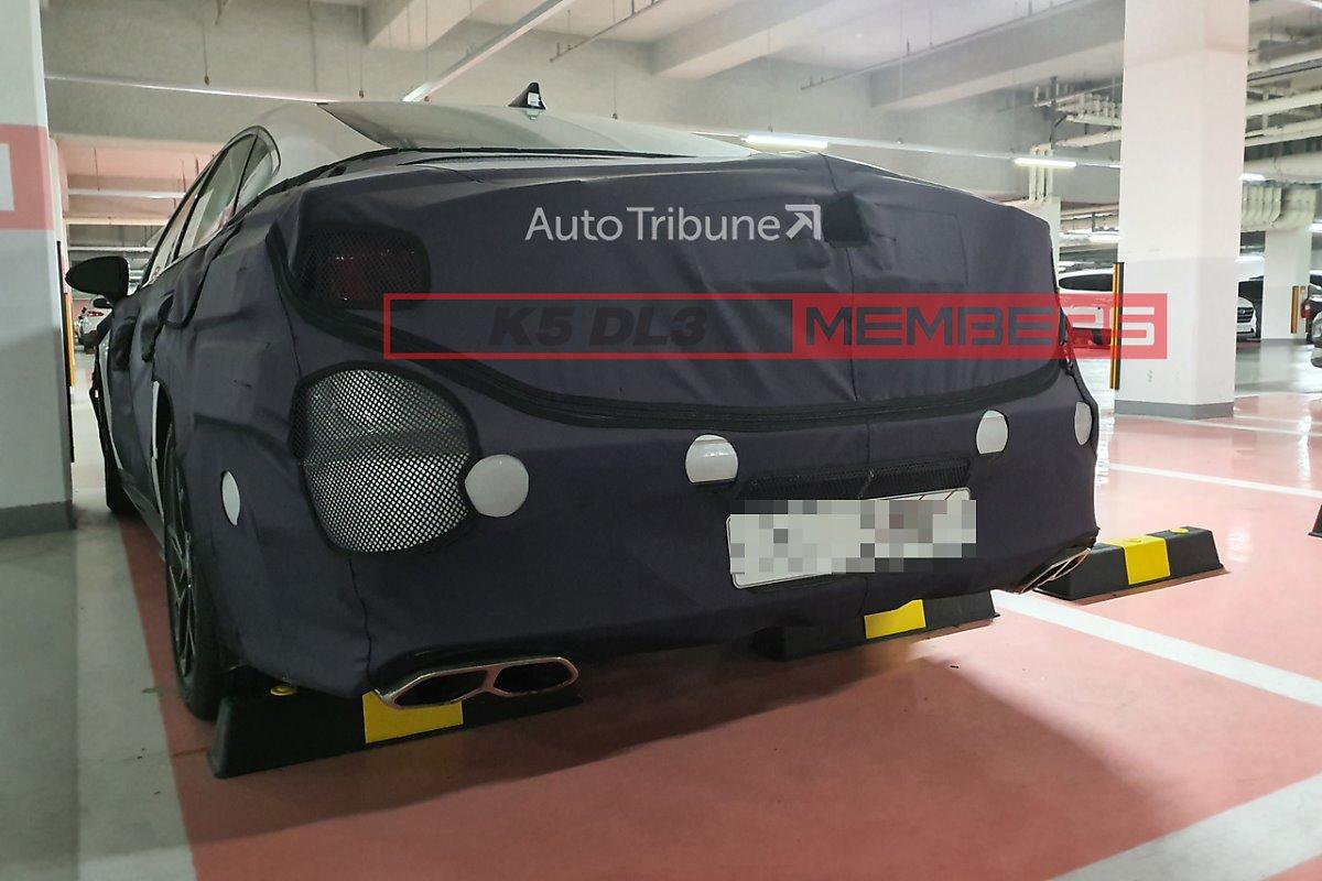Hyundai Sonata N Spied in South Korea