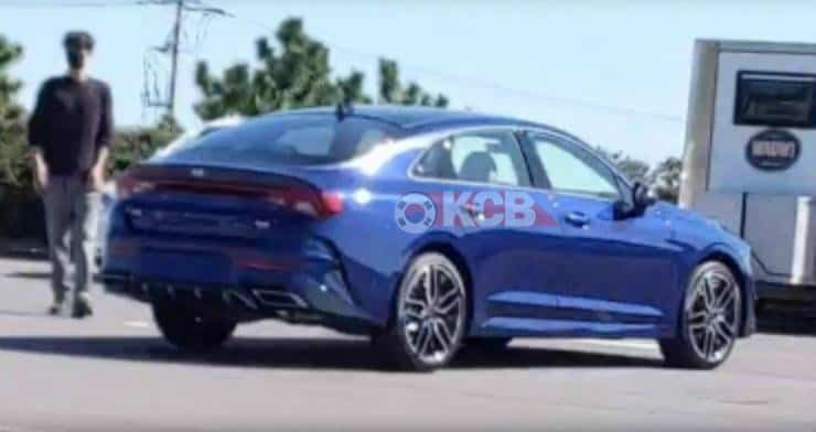 Next-gen Kia Optima Found Undisguised