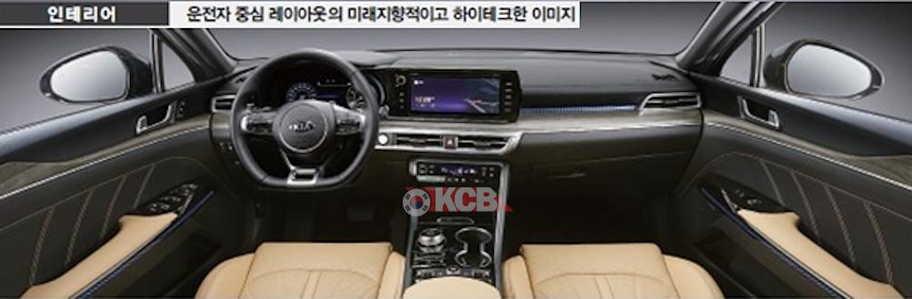 Next-gen Kia Optima Interior & Specs Revealed