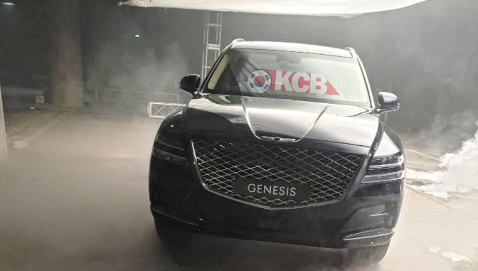 2020 Genesis GV80 Front Design Leak