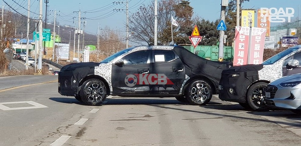 Hyundai Santa Cruz Spied, Looks Smaller Than We Thought
