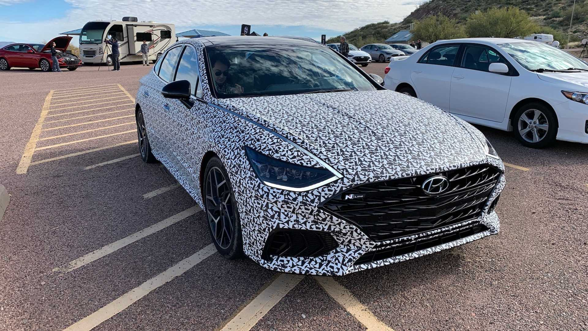 Hyundai Sonata N-Line to be Launched on April 20th