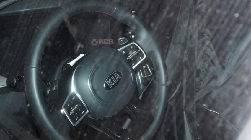 2021 Kia Sorento Interior Spied Undisguised