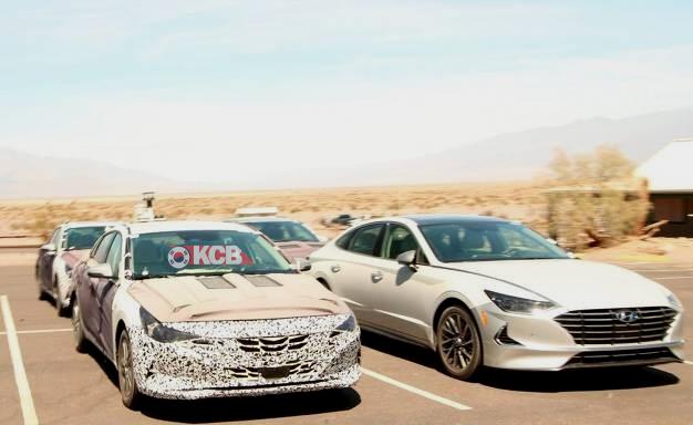 Next-gen Hyundai Elantra Spied, New Details