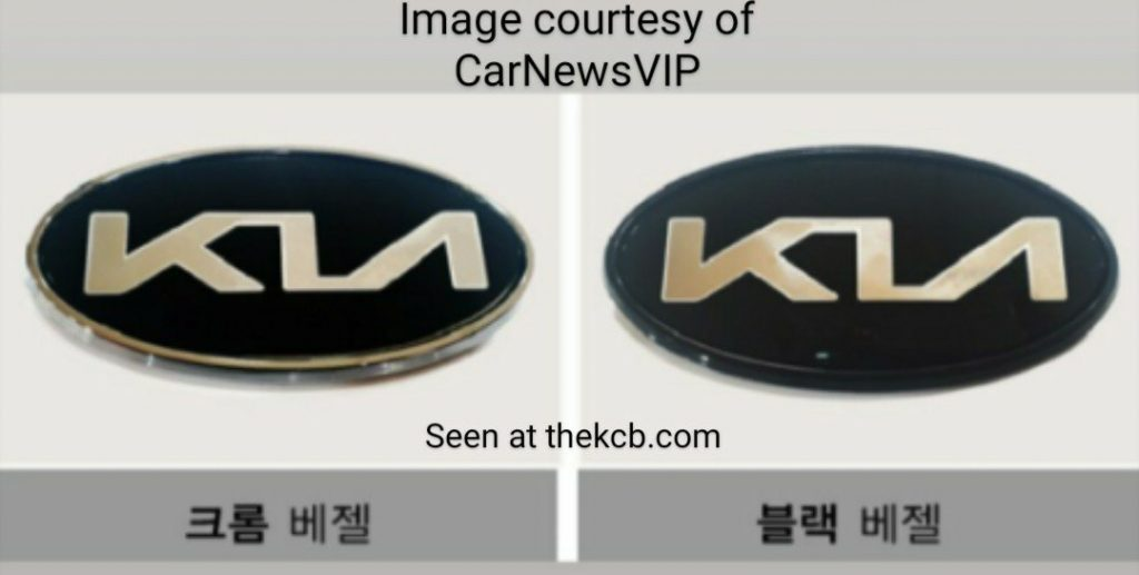 Kia New Logo Badge