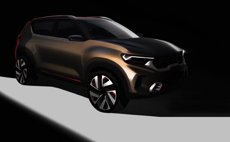 Dynamic Auto Sales >> Kia Motors Teases New Compact SUV Concept for Delhi Auto Expo - Korean Car Blog