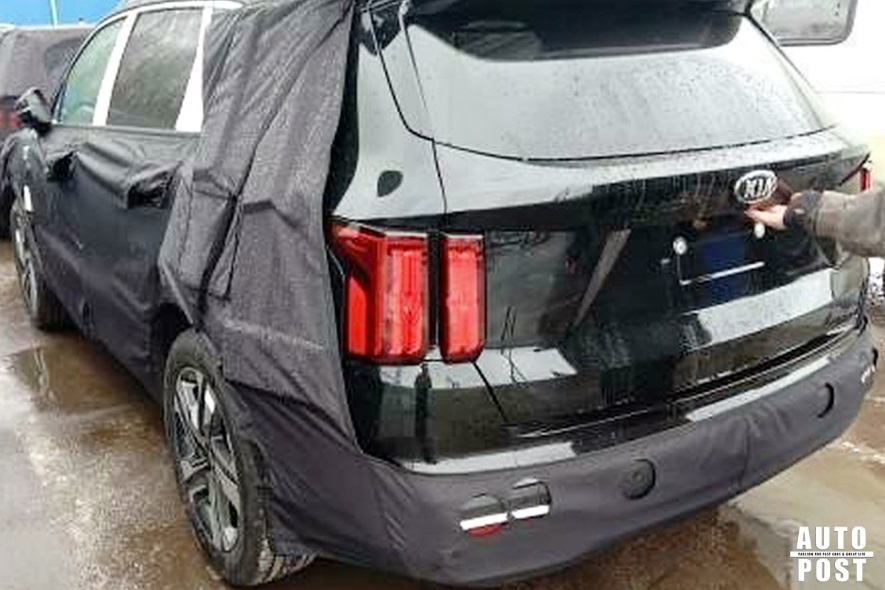 Kia Sorento Undisguised From More Angles