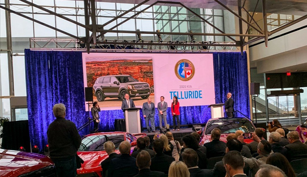 Kia Telluride Named North American Utility of the Year