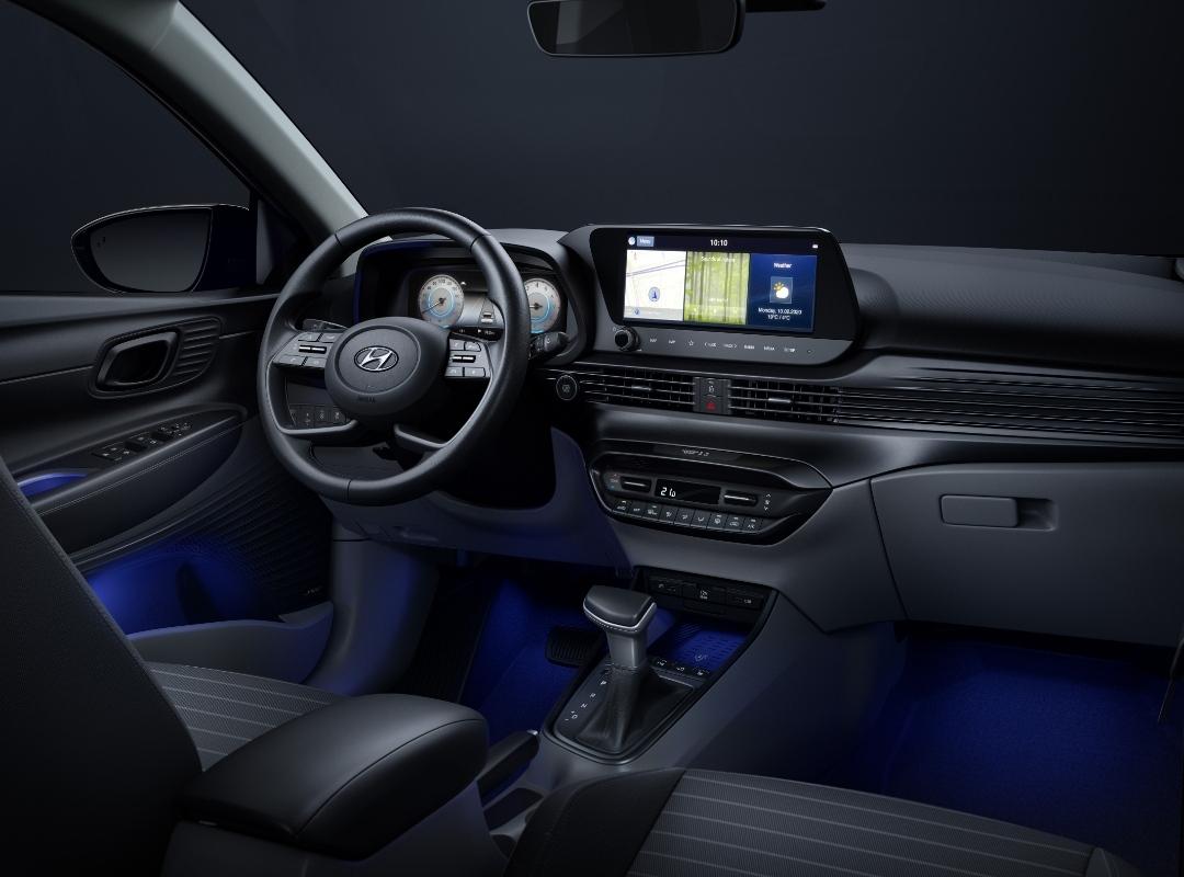 Hyundai Reveals First Interior Image of New i20